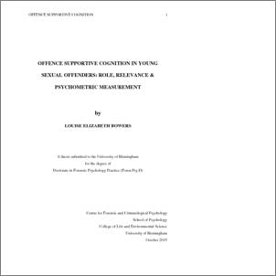 Bowers dissertation