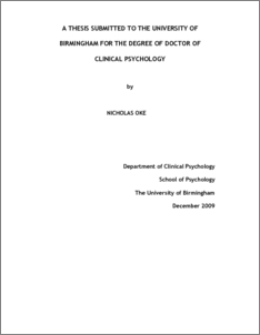 bham thesis guidelines